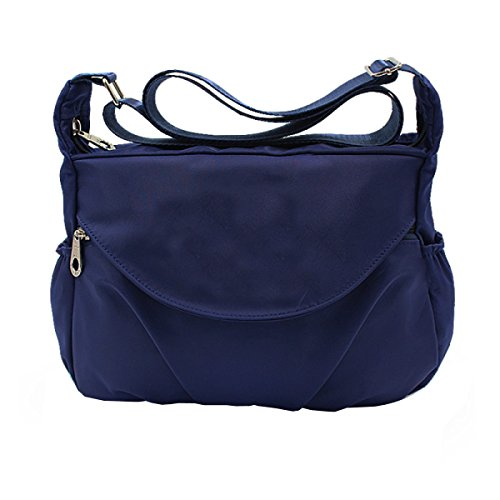 Shoulder MeiZiWang MeiZiWang Ms Blue Canvas Messenger MeiZiWang Shoulder MeiZiWang onesize Ms Bag Canvas ACp84qw