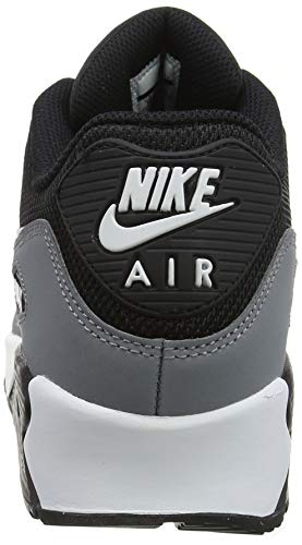 a1d07323a67b2 Nike Mens Air Max 90 Essential Running Shoes Black/White/Cool  Grey/Anthracite AJ1285-018 Size 10