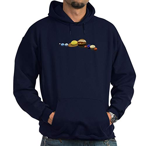 CafePress Solar System Pullover Hoodie, Classic & Comfortable Hooded Sweatshirt Navy