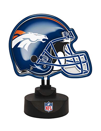 Broncos Denver Neon Helmet Lamp Light Sports Football Team Window Man Cave Bar Pub Work Office Desk Sign