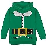 Holiday Elf Costume Green Toddler Hoodie