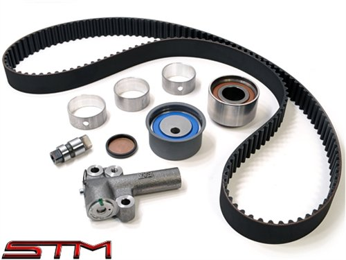 [STM DSM TIMING BELT REPLACEMENT KIT 90-94 1G 6 BOLT DSM WITH OEM BELT] (Kevlar Timing Belt)