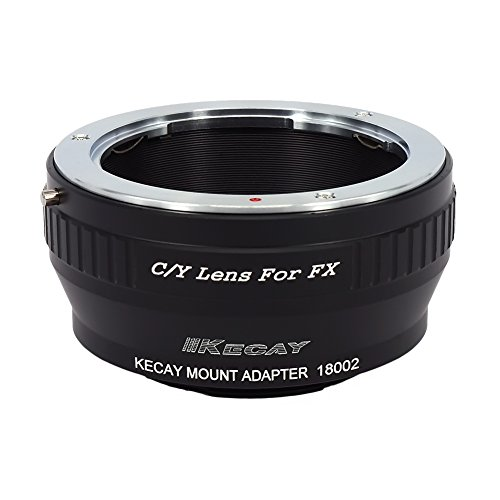 KECAY CY-FX Lens Mount Adapter C/Y Contax/Yashica Lens To Fujifilm X-Series Camera for X-Pro1, X-E1, X-E2, X-A1, X-M1, X-T1, X-T10, Contax-FUJI X, Yashica-FUJI X C/y Contax Yashica Lens