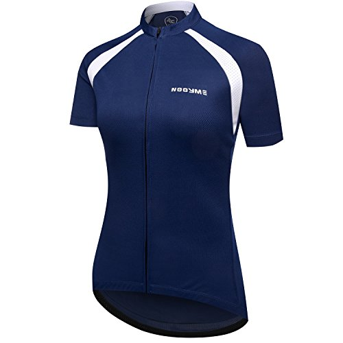 NOOYME Women s Cycling Jersey Short Sleeve Biking Shirt Breathable Bike  Jersey 92bab9e8c