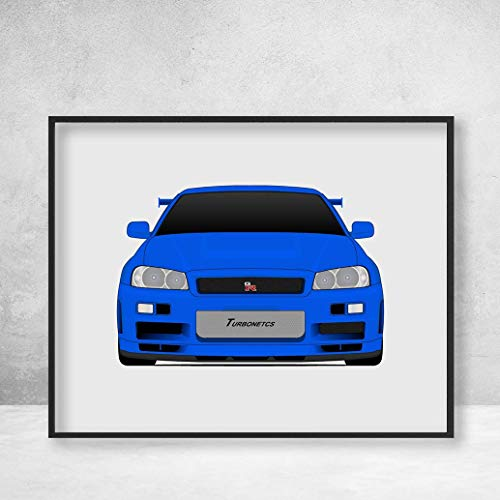 Nissan Skyline R34 GT-R from the Fast and the Furious Brian O