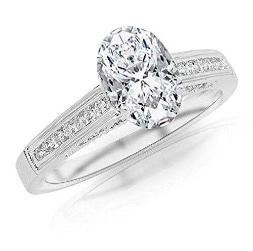 0.37 Ct Oval Diamond - 8