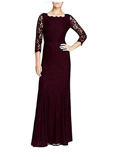 Leader of the Beauty Damen Kleid burgunderfarben