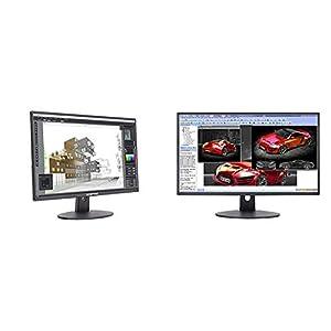 Sceptre E275W-19203R 27″ Ultra Thin 1080P LED Monitor 2X HDMI VGA Build-In Speakers, Metallic Black 2018