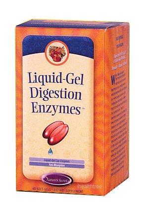 Amazon.com: liquid-gel Digestión enzimas 60 softgels de ...