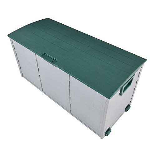 STS SUPPLIES LTD Patio Storage Boxes Outdoor Ottoman Patio Deck Cubby Garden Lift Top Storage Organizer Furniture & Ebook By Easy2Find. by STS SUPPLIES LTD