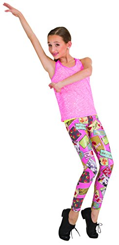 Body Wrappers Womens LEGGING 8603 -PIN-UPS M