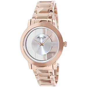Kenneth Cole New York Round Rose-Gold with Transparent Dial Women's watch #KC4926