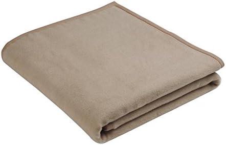 Biederlack Uni Wolldecke Kuscheldecke Wohndecke 160 X 240 Cm Objecta Sand Amazon De Kuche Haushalt