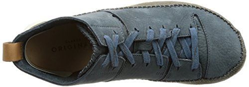 Clarks Originals Trigenic Flex Herren Sneakers Slate Blue