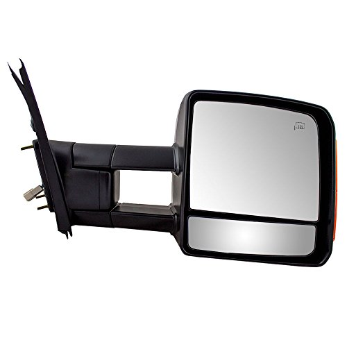 (Passengers Power Tow Side View Mirror Heated Signal Manual Telescopic Replacement for 07-18 Toyota Tundra 879100C221)