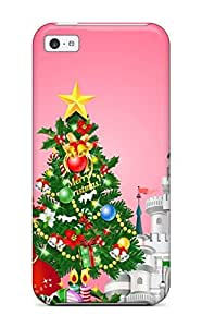 For HCrJSPV851wIYKg Holiday Christmas Protective Case Cover Skin/iphone 5c Case Cover