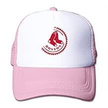 CCbros Red Sox Running Mesh Back Hat Caps One Size Fit All Black