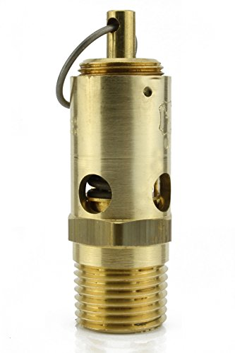 conrader New 1/2'' NPT 150 PSI Air Compressor Safety Relief Pressure Valve Tank Pop Off by conrader
