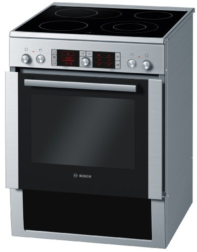Bosch HCE754853 Herd-Kochfeld-Kombination / A -30% / Kochfeld: Ceran/Glaskeramik / Herdfarbe: Edelstahl / AutoPilot / Pizzastufe