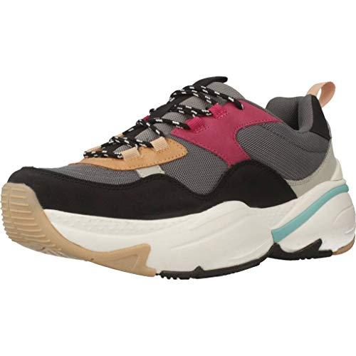 Mujer Zapatillas Bajas Zapatos Victoria 147102 Multi Negro Oq0a5TF