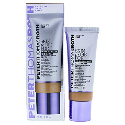 Peter Thomas Roth Skin To Die For Mineral Matte CC Cream SPF 30 - Tan for Women,1 fl. oz.