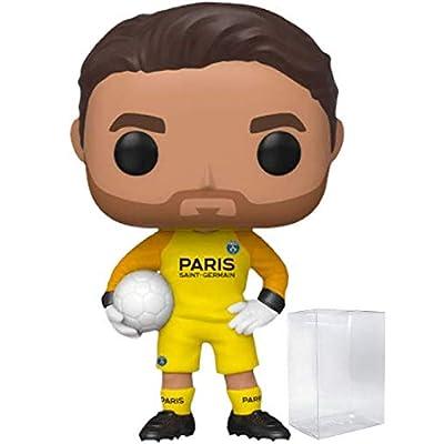 Funko Pop! Soccer: Paris Saint-Germain - Gianluigi Buffon Vinyl Figure (Includes Compatible Pop Box Protector Case): Toys & Games