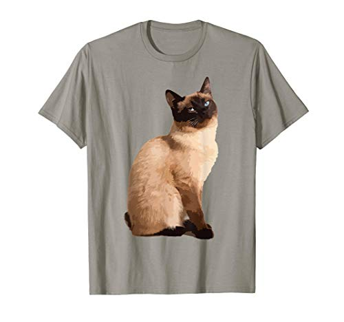 Siamese Cat Shirt - Cute Siamese Cat T shirts