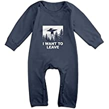Bsfgvkaef Soft Cotton I Want To Leave Baby Cotton Romper