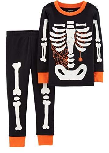 Carter's Baby Boy Girl Halloween Glow-in-The-Dark Costume Pajamas PJs -