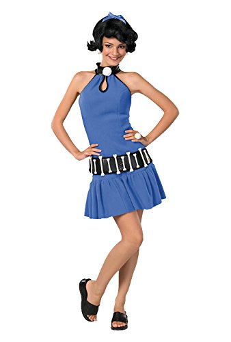[Rubie's Costume Co Women's The Flintstone's Betty Rubble Teen Costume, Multi, One Size] (Wilma And Pebbles Costumes)