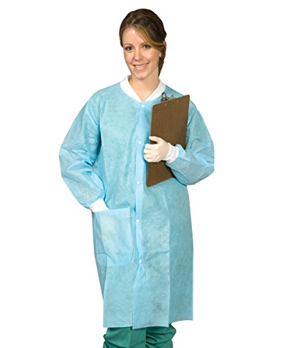 (Mydent SG-9006 Disposable Lab Coat (Pack of 10))