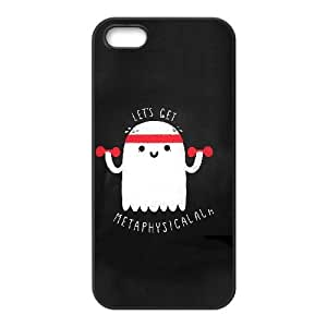 iPhone 5 5s Cell Phone Case Black METAPHYSICAL VIU909148