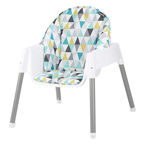 412uFgvMpDL - Evenflo 4-in-1 Eat & Grow Convertible High Chair, Prism