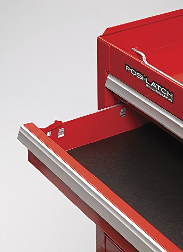 Waterloo Professional Series 5-Drawer Rolling Tool Cabinet with Internal Tubular Keyed Locking System, Red Finish, 26'' W by Waterloo (Image #1)