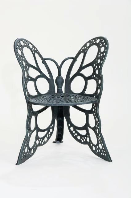 Amazon Flower House FHBC205A Butterfly Chair Antique Patio Chairs