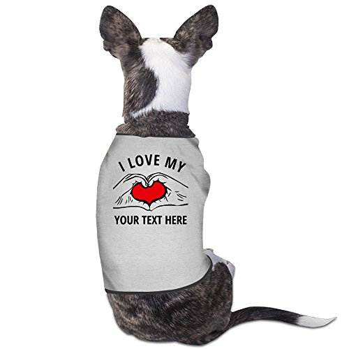 [YRROWN I Love My Dog Sweater] (Best Halloween Costume Florida)