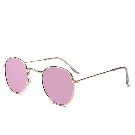 Yangjing-hl Gafas de Sol de película de Color de Marco ...