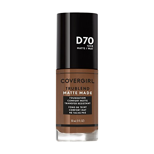 Covergirl Trublend Matte Made Liquid Foundation, D70 Cappuccino, 1.014 Ounce