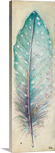 Patricia Pinto Premium Thick-Wrap Canvas Wall Art Print entitled Watercolor Feather I 12
