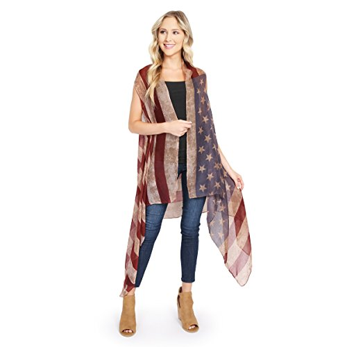 MYS Collection American Flag Red Vintage (American Vintage Collection)