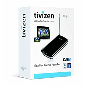 Amazon!Elgato Tivizen: DVB T to Go für iPad, iPhone, iPod touch und Computer. inkl. Versand 89,99€