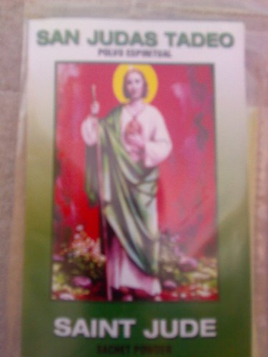 ST JUDE POLVO SAN JUDAS TADEO Santo del trabajo - Protector - Casos dificiles (Oracion A San Judas Tadeo Para El Trabajo)