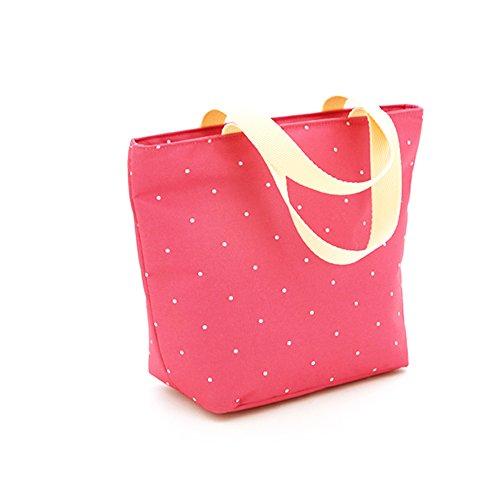 Las mujeres embarazadas salen bolso, bolso de la momia, salen el bolso, bolso de la madre, bolso multiusos del bebé del hombro, pequeño bolso de la momia ( Color : Khaki ) Rosa Roja