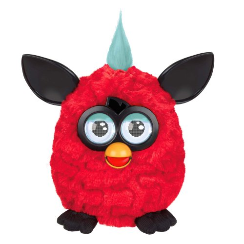 Furby Plush, Red/Black