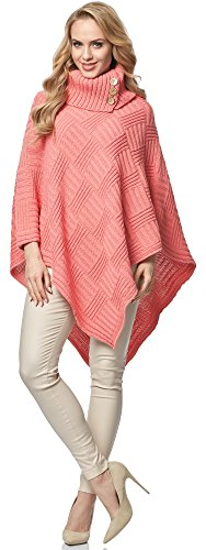Poncho Style Merry MSSE0034 Donna Pesca FYf7S