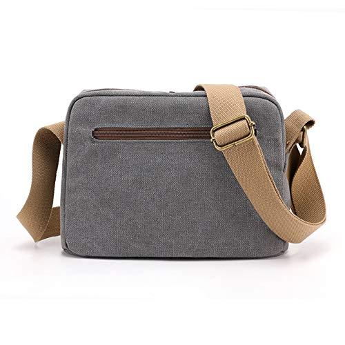 SUNXK Ms. axelväska 2020 ny trend för vilda japanska koreanska vardagliga mode handväskor hand diagonal kanvasväska (färg: Sky-blå, Storlek: 27 x 19 x 10 cm)