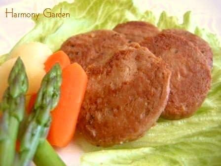 ハーモニーガーデン 大地のたより 大豆製ビーフ風ミニステーキ (乳) (冷凍) 200g -オリエンタル・ベジタリアン対応-