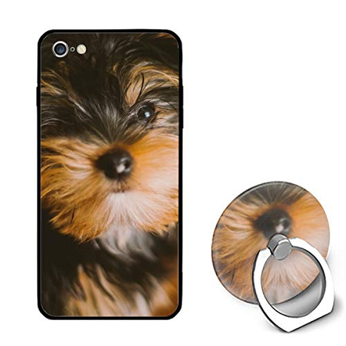 Yorkshire Terrier iPhone 6S Case/iPhone 6 Case, Ultra Thin iPhone Case with Ring Stand Anti-Scratch Defender Case Compatible for iPhone 6/6S]()