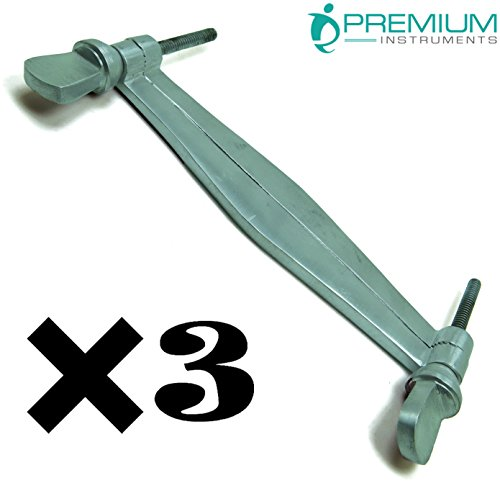 3× PREMIUM INSTRUMENTS Veterinary Ear Clamps 5.5