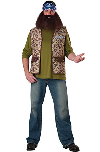 InCharacter Costumes Duck Dynasty Willie Costume, Brown Camo, One (Willie Costume Duck Dynasty)